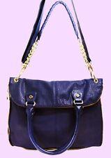 STEVEN MADDEN MILAN BMAXXY Purple Leather Convertible Tote Shoulder Bag