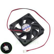 5pcs 60mm 12V 2 Pin Computer PC Chipset VGA Video Heatsink Cooler Cooling Fan