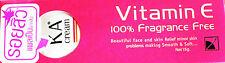 KA CREAM VITAMIN E 100% Reduce Wrinkle Scar Pimple Adjust Skin Smooth Soft 15 g