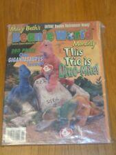 MARY BETHS BEANIE WORLD VOL 2 #2 NOVEMBER 1998 US MAGAZINE =