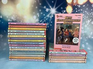 Babysitters Club Scholastic Lot Complete the Original Series Pick & Choose Set