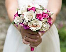 Bouquet sposa con fiori di palloncino gioiello unico per matrimonio fatto a mano