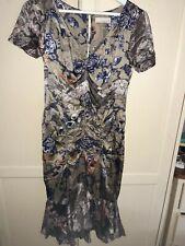 Odd Molly Silk Flora And Fauna Dress Size 2/UK12
