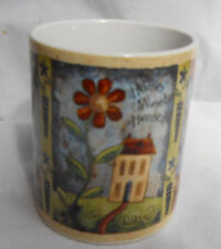 LANG MUG CUP COFFEE HOME SWEET HOME 0501029 PEAR HOUSE FLOWERS MOON HEART TREE