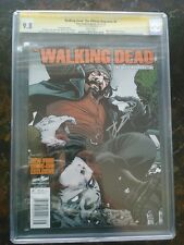 Walking Dead Magazine # 6 NYCC CGC 9.8 White Pages SS Kirkman
