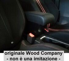 BRACCIOLO OPEL CORSA F 2020 REGOLABILE ECOPEL NERO PROMO originale Wood Company