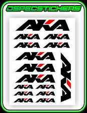 AKA TYRES STICKER SHEET A5 RC OFF ROAD BUGGY TYRE DECAL 1/8 1/10 ASSOCIATED TLR