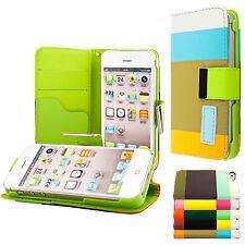 Apple iPhone 4 4S Housse pochette wallet case+ protection d'écran