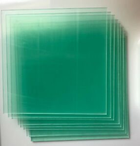 10St.Plexiglasplatten für Druckbett 170x170x2mm von German RepRap NEO 3D Drucker