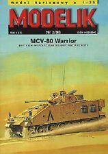 Modelik 03/98 - Panzer MCV 80 Warrior  1:25