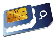 Latest O2 Pay And As You Go Combi Micro & Standard Sim Card 4G Data 3000 Mins*