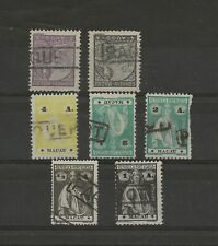 Macau Boat Stamps