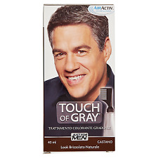 Tinta capelli uomo Touch of Gray Trattamento Colorante Graduale Castano