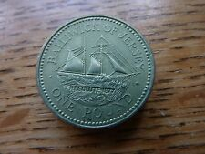 Channel Islands 1994 £1 Jersey Resolute Coin 'Mintage Only 60,000' A/UNC (ref16)