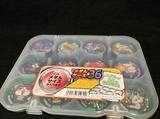 USA SELLER Plastic Medal Case Youkai Yokai Watch Fits 36 Medals Made In Japan