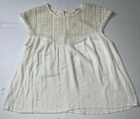 Preowned- H&M Sleeveless Pullover Flaired Blouse Womens (Size M)