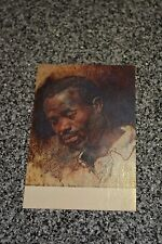 """VTG Hyde Collection POSTCARD Glen Falls NY """"Head of a Negro"""" oil UNPOSTED Dexter"""
