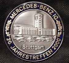 MBIG Plakette 20.Mercedes Jahrestreffen Stuttgart 2000  W120 W121 W128 W110