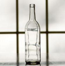 750mL Clear Bordeaux Wine Bottles - Case of 12