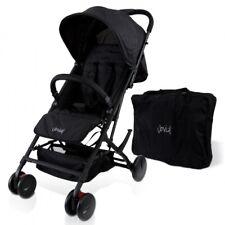 JOVIAL JPC20BK Portable Folding Baby Stroller, Compact & Portable, Black