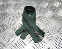 Genuine British Military 245mm Closed End Green Zip / Zipper Heavy Duty  NEW
