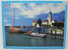 Vintage Lake Bodensee Bavaria West Germany Jigsaw Puzzle 1500 Pieces York MB New