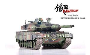 Panzerkampf 1/72 Dutch Leopard 2A6NL Main Battle Tank - Woodland Camo - 12213PA