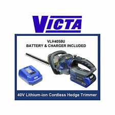 Victa V-Force+ 40V Cordless Hedge Trimmer - 2.0 Ah Battery & Charger Included