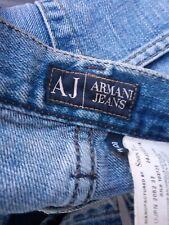Men's AJ Armani Indigo Jeans W31 / L34 Blue straight leg