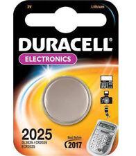 DURACELL Lithium Knopfzellen DL 2025 Batterien Uhrenbatterien Knopf Zellen NEU!