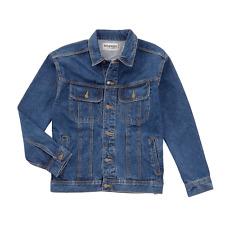Men's Wrangler Rugged Wear Unlined Denim Jacket Coat All Sizes RJK30AN