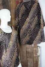 Kombiset * 2Teile * Top + Bluse * African Style * Erdig * Gemustert * Gr 48