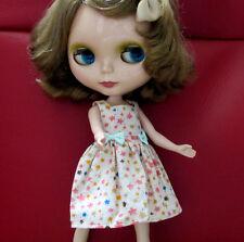 Blythe Doll Outfit Flower Print Dress