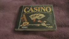 HOYLE CASINO POKER SLOTS KENO BLACKJACK PAI HORSE RACING ROULETTE PC CD ROM BOOK