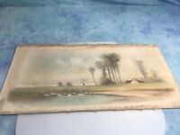Original Signed W. S. HUNT Pastel 20th Century American Listed Artist, 1887-1992