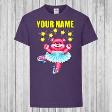 Lovely Gift for little Girl Ballerina Personalised T-Shirt Sizes 1-12 years