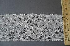 Vintage French Cotton Lace. Ecru.  1930's. 50mms.. x 2 Metres.