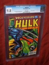Hulk #8 CGC 9.8      VS Wolverine!