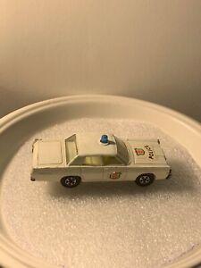 Matchbox Lesney no 55/73 Mercury Police Car