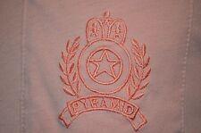 Razzberry Cupcake Pink Embroidered Pyramid Sailing Soft Thin M T-Shirt VTG 80s