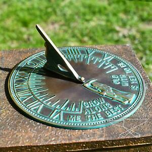 New Old Father Time Sundials - 200mm