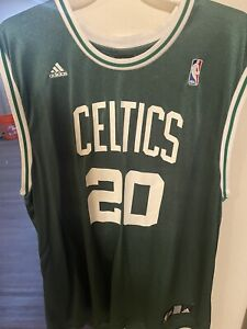 Mens XL Ray Allen Boston Celtics Adidas Stitched Jersey!
