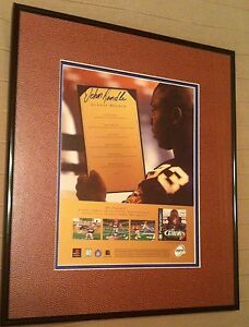 John Randle Autographed 989 Sports NFL Xtreme2 Playstation Poster