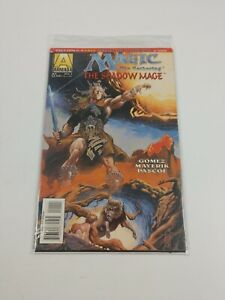 Magic: The Gathering—The Shadow Mage #1 VF/NM; bagged w/card & valiant free-view