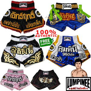 LUMPINEE Shorts Real Muay Thai Boxing GENUINE Made-To-Order Handmade Best Tailor