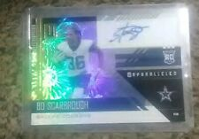 1/1 #1 /5 Bo Scarbrough RC 2018 Unparalleled Rookie Prizm Fireworks Auto SSP