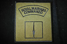 Royal Marines Commando - Morale Subdued  Sew On Patch - No607