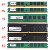 Memory RAM Computer PC DDR3/DDR4 1600/2400MHZ PC3-12800 1.5V DIMM For Intel/AMD