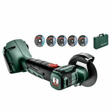 Cc 18 Ltx Bl Angle Grinder Battery Metabo (only Camera Body)