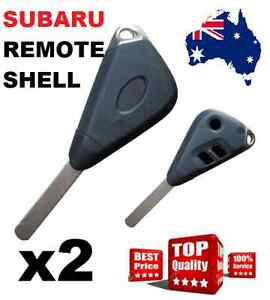2 x Remote Key Shell suitable for Subaru Outback Impreza Tribeca Legacy Forester